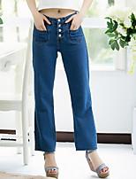 Women's Wide Leg Leisure Jeans