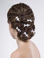 Licht Metaal Vrouwen Helm Bruiloft/Speciale gelegenheden/Casual Haarspeld Bruiloft/Speciale gelegenheden/Casual 6-delig