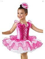 Vestidos ( Fucsia , Organdí/Lentejuela/Licra , Ballet/Danza Moderna/Desempeño ) - Ballet/Danza Moderna/Desempeño - para Niños