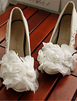 Women's Shoes Leather Stiletto Heel Heels Pumps/Heels Wedding/Party & Evening White