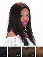 12''-24'' natural straight Indian Virgin Remy Human Hair Wigs Front Lace Wigs With Baby Hair For Blacek Women