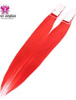 20pcs / lot voorraad mooie kleur Mongoolse remy tape in hair extensions 20 inch pu huid inslag hair extensions nieuwe !!!