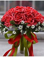 Ramos ( Multicolor , Satén/Espuma/Poliéster ) - Rosas