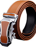 Men's Genuine Leather Ratchet Belt