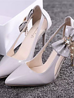 Women's Shoes Stiletto Heel Pointed Toe Pumps/Heels Dress Pink/White/Gray