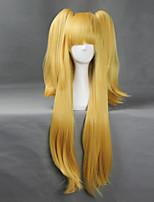 Parrucche Cosplay - Altro - Altro - 80cm+50cm - Giallo