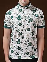 DMI™ Men's Lapel Print Contrast Color T-Shirt(More Colors)