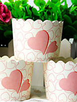 50 Piece/Set Favor Holder - Cylinder Card Paper Cupcake Wrapper and Boxes Non-personalised