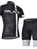 Cycling Jersey Set Short Sleeve 3D Soft Padded Trousers for Men