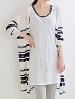Women's Casual Stretchy Thin Long Sleeve Cardigan