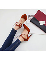 Women's Shoes  Stiletto Heel Heels/Pointed Toe Pumps/Heels Casual Black/Burgundy/Neutral