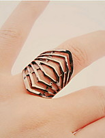 Women's Europe And The United States Exaggerated Style Punk Alloy Ring