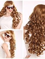פאת שיער אירופאית ואמריקנית צבע אופנה באיכות גבוהה ppopular מתולתלת