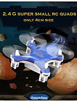 JJRC 820 2.4G 4ch 6-axis Gyro Nano Micro RC Quadcopter 360 Degree 4cm Size