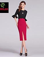 YIMILAN® Women's Before 2015 The New Fashion Sexy Split Skirts