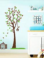 casa removível pequena do animal de parede da sala / quarto etiqueta das crianças