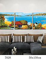peinture à l'huile numérique bricolage en bois massif avec la famille de châssis peinture amusant tout seul seabeach 7028