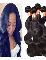 3Pcs/Lot 8A Unprocessed Brazilian Virgin Hair 3pcs Brazilian Body Wave Human Hair Weaves Soft Human Hair Extension