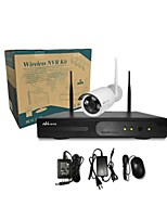 Ann®1 CH H.264 Home Security System DVR Kit (4 pc IR-cut Outdoor Waterproof Camera, HDMI, USB  Wifi)