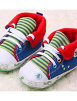 Zapatos de bebé Casual Tejido Sneakers a la Moda Azul/Rojo/Gris
