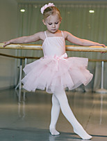 Kinderen - Ballet - Tutus&Rokken/Hoofddeksels ( Roze , Nylon/elastan/Tule , Bloem (en)/Ruches/Roesjes )