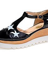 Women's Shoes  Wedge Heel Wedges Pumps/Heels Casual Black/Blue/Khaki
