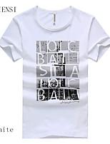 2015 new Korean men's summer student Men Men's T-shirt short sleeved t-shirt tee male