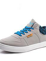 Scarpe da uomo - Sneakers alla moda - Tempo libero - Tessuto - Nero / Blu / Grigio