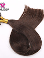 100g/lot Stock Dark Color Mongolian Remy Nail Tip Hair Extensions 20 inch U Tip Hair Extensions 100gram NEW!!!