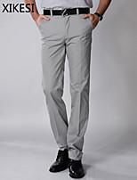 Men's Casual/Work Pure Chinos Pants (Cotton) XKS7C03