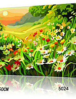 DIY Digital Oil Painting With Solid Wooden Frame Family Fun Painting All By Myself     Colorful Valley 5024