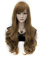 60cm Long Wavy Anime Cosplay Party Women Lady Sexy Harajuku Wig Long Party wigs