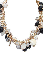 Women's European Style Fashion Wild Summer Style Resin Necklace