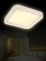 Flush Mount LED No Polar Light with Remote Control Modern/Contemporary Living Room/Bedroom/Dining Room/Office PVC