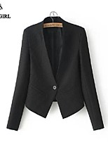 LIVAGIRL®Women's Jacket Fashion Europe Style SLim Long Sleeve Coat Office Lady Style  Casual All-Match Top Outwear