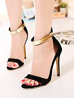 Women's Shoes  Stiletto Heel Heels Sandals Party & Evening/Casual Black