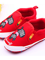 Baby Shoes Casual Fabric Loafers Red