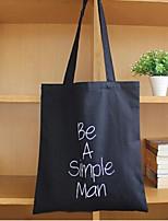Women 's Canvas Shopper Shoulder Bag - Gray/Black