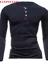 2015 T Shirts Men Short Sleeve Sport Man Long sleeve T-shirt