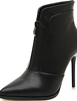 Women's Shoes Stiletto Heel Heels/Fashion Boots/Pointed Toe Boots Casual Black