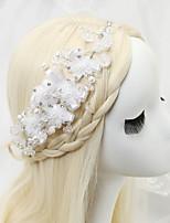 Hårband Headpiece Dam/Blomflicka Bröllop/Speciellt Tillfälle Strass/Legering/Imitation Pärla Bröllop/Speciellt Tillfälle 1 st.