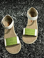 Women's Shoes Synthetic Flat Heel Comfort Sandals Casual Blue/White