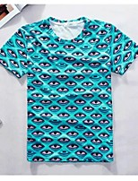 Men's Creative Unique Detailed Intensive Summer Breathable 3D Style T-Shirt——A Lot Of Eyes
