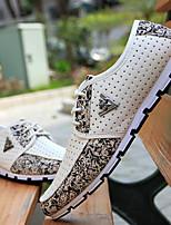 Scarpe da uomo - Sneakers alla moda - Casual - Finta pelle - Nero / Rosso