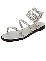 Women's Shoes Flat Heel Styles Sandals Casual Black/Silver
