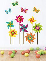 stickers muraux de style de décalcomanies de Wall Mur papillon cerf-volant de pvc autocollants