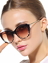 Women 's 100% UV400 Anti-Radiation Cat-eye Sunglasses