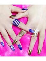 Hotting 1 Bottle 7ml Metallic Color Nail Art Gel Tops SOAK-OFF UV/LED Gel Polish 24 Colors Manicure Tools