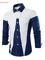 High Quality 2015 Men's Cultivate One's Morality Long-sleeved Shirt