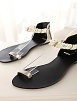 Women's Shoes  Flat Heel Toe Ring Sandals Casual Silver/Gold